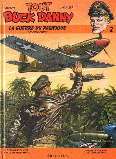 Couverture de Buck Danny (Tout) -2- La guerre du Pacifique - Seconde partie