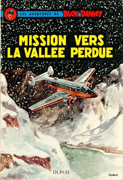 Couverture de Buck Danny -23- Mission vers la vallée perdue