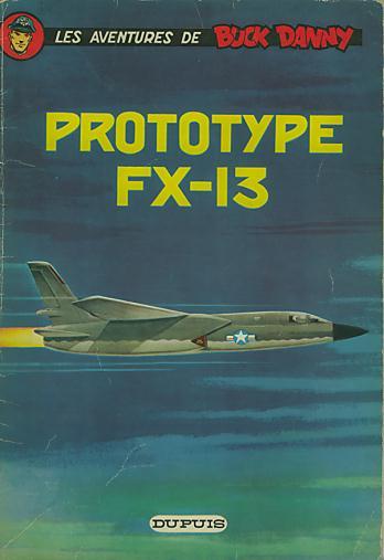 Couverture de Buck Danny -24- Prototype FX-13