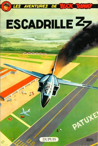 Couverture de Buck Danny -25- Escadrille ZZ