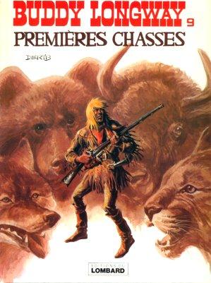 Couverture de Buddy Longway -9- Premières chasses