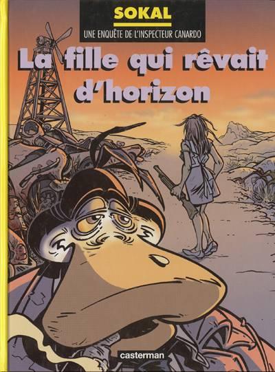 Couverture de Canardo (Une enquête de l'inspecteur) -10- La fille qui rêvait d'horizon