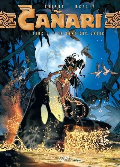 Couverture de Cañari -2- La dernière vague