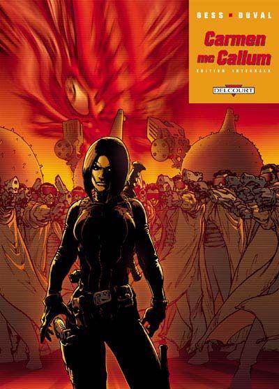 Couverture de Carmen Mc Callum -INT1- L'affaire Sonoda