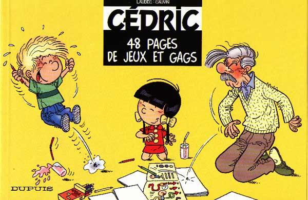 Couverture de Cédric -J1- 48 pages de jeux et gags
