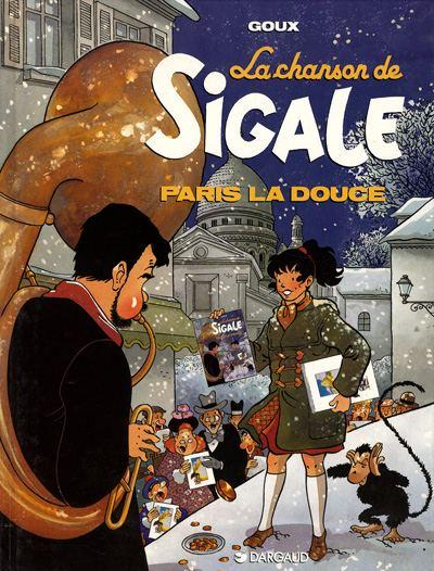 Couverture de La chanson de Sigale -2- Paris la douce