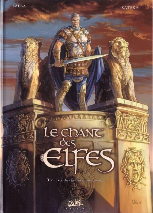 Couverture de Le chant des Elfes -2- Les Invasions barbares