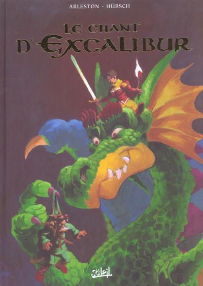 Couverture de Le chant d'Excalibur -INT1- Le Chant d'Excalibur