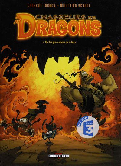 Couverture de Chasseurs de dragons -1- Un dragon comme pas deux
