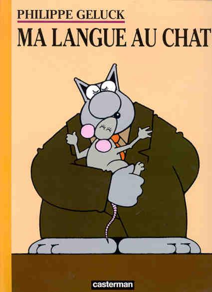 Couverture de Le chat -6- Ma Langue au Chat
