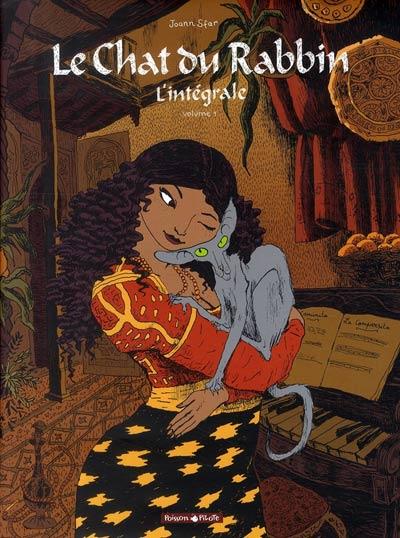 Couverture de Le chat du Rabbin -INT01- L'intégrale - Volume 1