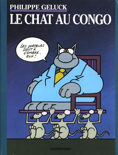 Couverture de Le chat -5- Le Chat au Congo