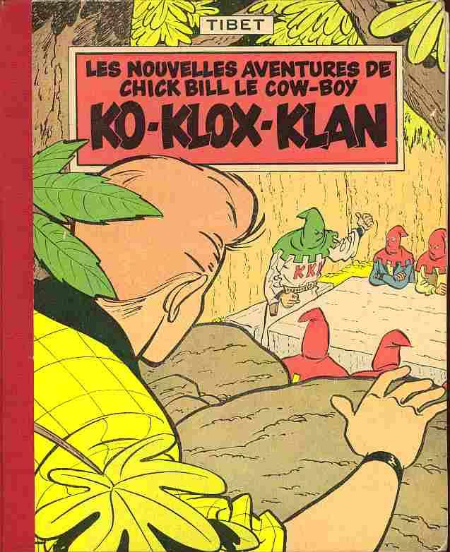 Couverture de Chick Bill (collection du Lombard) -7- Ko-Klox-Klan