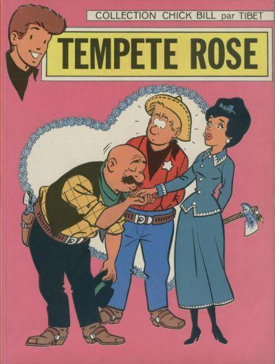 Couverture de Chick Bill (collection Chick Bill) -1- Tempête rose