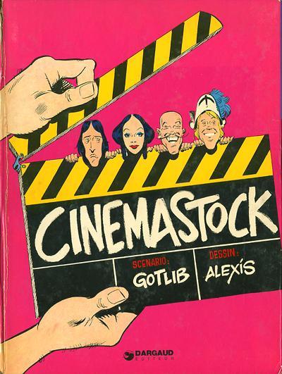 Couverture de Cinémastock -1- Cinemastock