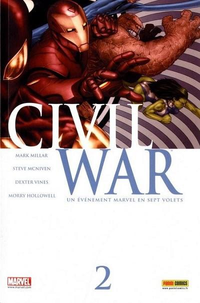 Couverture de Civil War - Tome 2