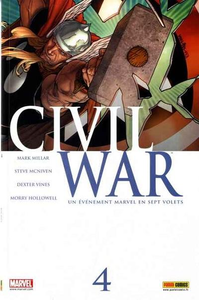 Couverture de Civil War - Tome 4