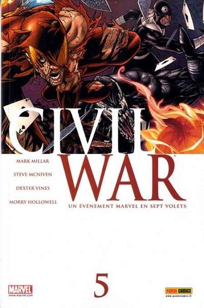 Couverture de Civil War - Tome 5