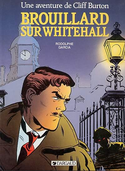 Couverture de Cliff Burton (Une aventure de) -1- Brouillard sur Whitehall