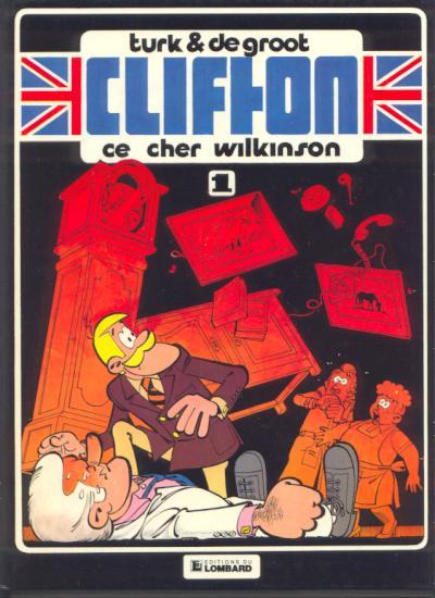 Couverture de Clifton -1- Ce cher Wilkinson