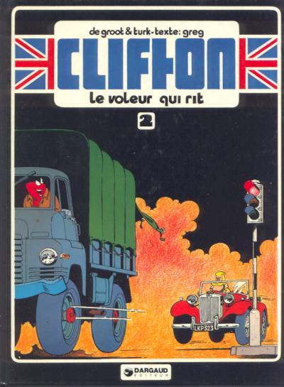 Couverture de Clifton -2- Le voleur qui rit