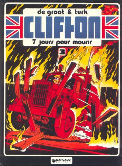 Couverture de Clifton -3- 7 jours pour mourir