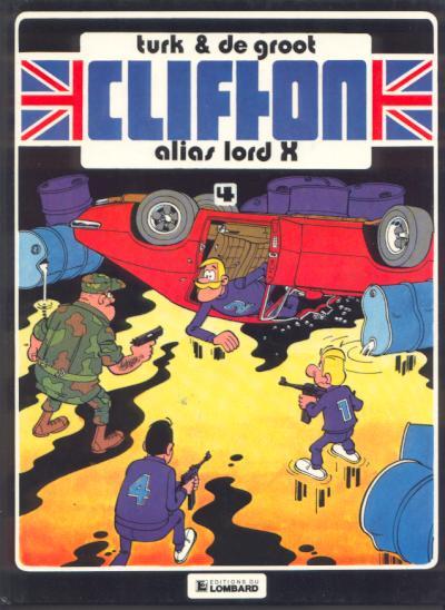 Couverture de Clifton -4- Alias lord X