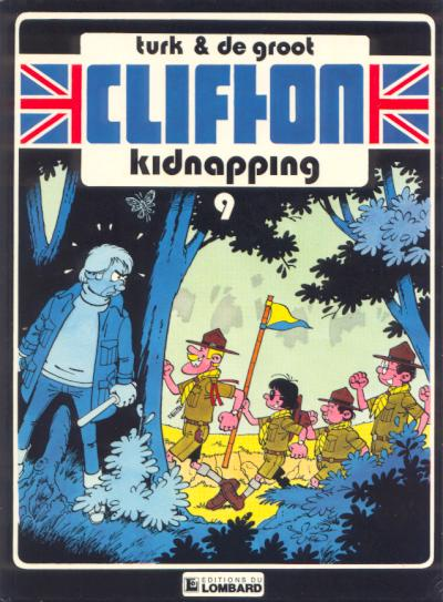 Couverture de Clifton -9- Kidnapping