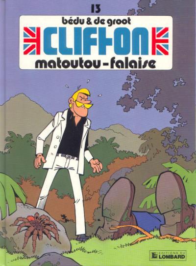 Couverture de Clifton -13- Matoutou-Falaise