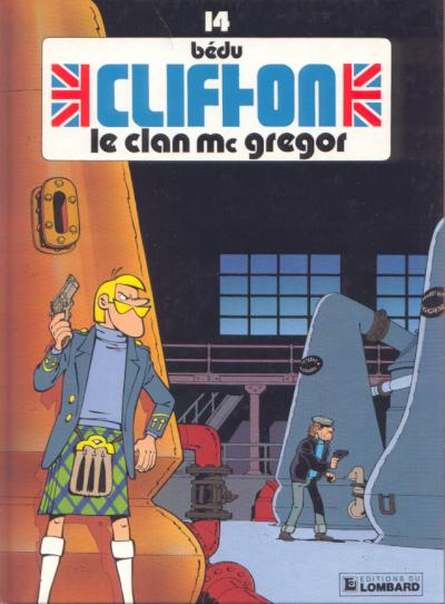 Couverture de Clifton -14- Le clan Mc Gregor
