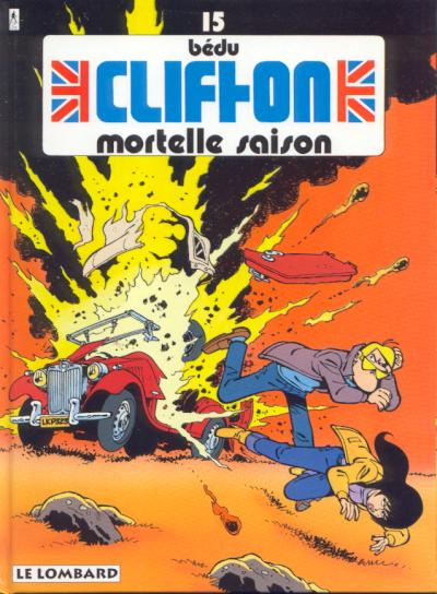 Couverture de Clifton -15- Mortelle saison