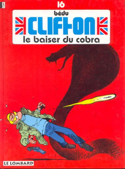 Couverture de Clifton -16- Le baiser du Cobra