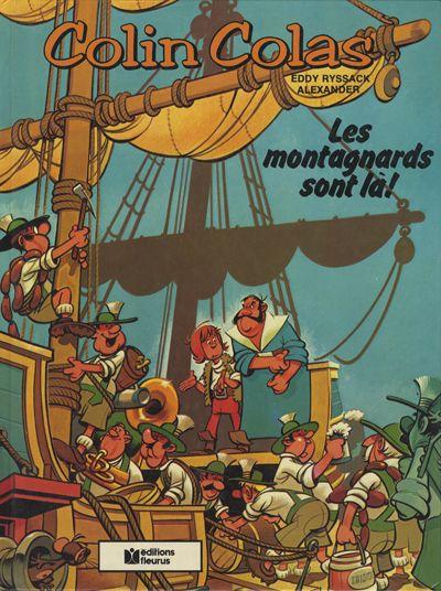 Couverture de Colin Colas -1- Les montagnards sont là!