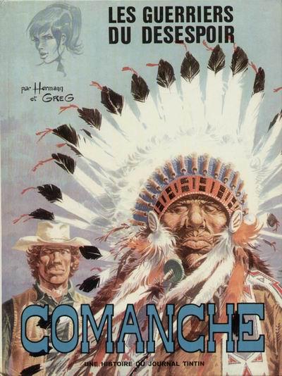 Couverture de Comanche -2- Les guerriers du désespoir