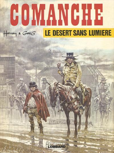 Couverture de Comanche -5- Le désert sans lumière