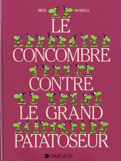 Couverture de Le concombre masqué -7- Le Concombre contre le grand Patatoseur