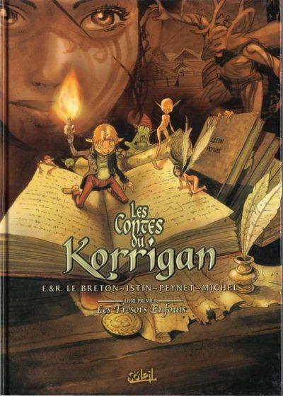 Couverture de Les contes du Korrigan -1- Livre premier : les Trésors Enfouis