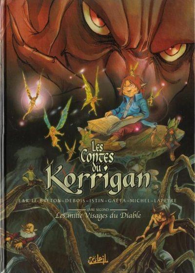 Couverture de Les contes du Korrigan -2- Livre second : Les mille Visages du Diable