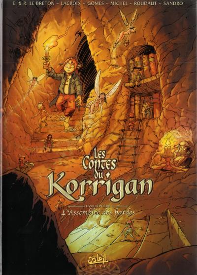 Couverture de Les contes du Korrigan -7- Livre septième : L'Assemblée des Bardes