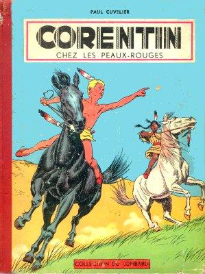 Couverture de Corentin (Cuvelier) -3- Corentin chez les peaux-rouges