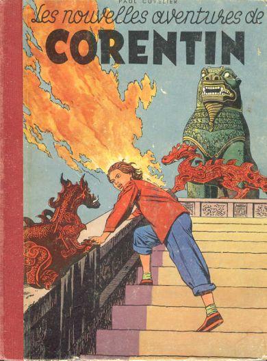 Couverture de Corentin (Cuvelier) -2- Les nouvelles aventures de Corentin