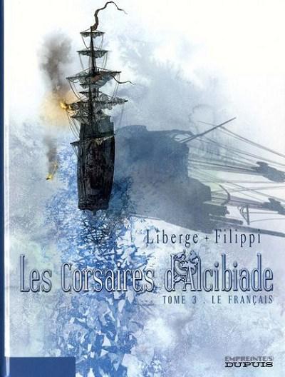 Couverture de Les corsaires d'Alcibiade -3- Le Français