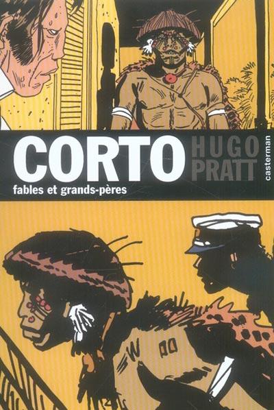 Couverture de Corto (Casterman chronologique) -13- Fables et grand-pères