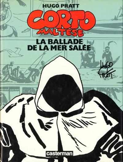 Couverture de Corto Maltese (Couleur Format Normal) -3- La ballade de la mer salée