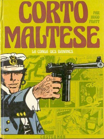 Couverture de Corto Maltese (première série cartonnée) -3- La conga des bananes