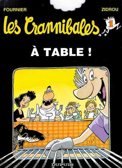 Couverture de Les crannibales -1- À table !