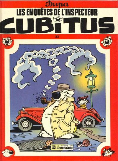 Couverture de Cubitus -22- Les enquêtes de l'inspecteur Cubitus
