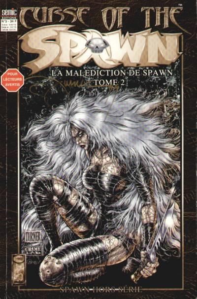 Couverture de Spawn (Semic) (Hors Série) -3- Curse of the Spawn - Tome 2