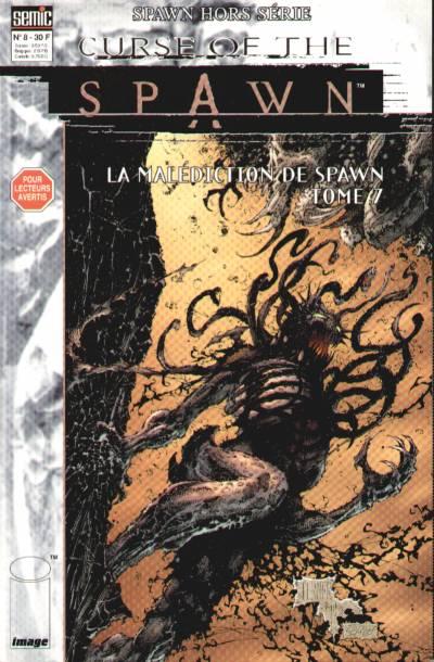 Couverture de Spawn (Semic) (Hors Série) -8- Curse of Spawn - Tome 7