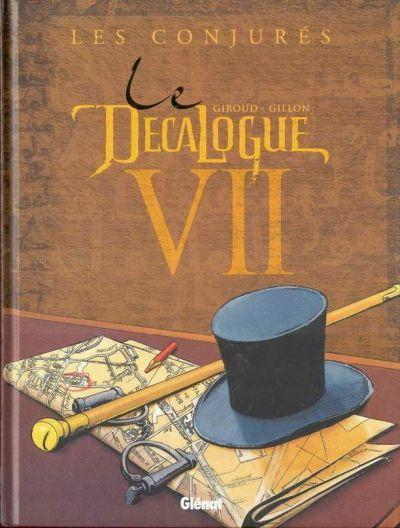 Couverture de Le décalogue -7- Les conjurés